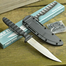 Cold Steel Bowie Spike Fixed Blade Neck Knife Secure-Ex Sheath 53NBS