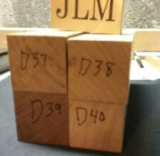 4 piece Walnut turning square game call blanks