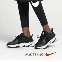 Nike M2K Tekno Womens Black White Sneakers Casual Training Gym Sneakers BQ3378