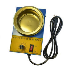 220V Tin Furnace Adjustable Melting Temperature Solder Pot For Iron Solder