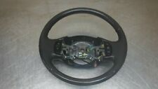 Ford Excursion F250 F350  DARK Grey Leather Wrapped Steering Wheel F-250
