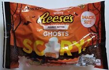 NEW 2017 HALLOWEEN REESE'S PEANUT BUTTER GHOSTS CHOCOLATE FREE WORLD SHIPPING