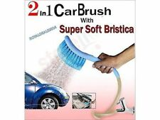 2 in1 Cleaning & Spraying Technology, Car Cleaning Brush with Water Spray