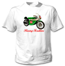 BENELLI 250 1969 INSPIRED - NEW WHITE COTTON TSHIRT ALL SIZES IN STOCK