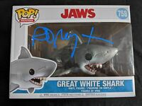RICHARD DREYFUSS Signed Bruce Shark JAWS Funko Pop Autograph BAS Beckett COA