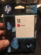 HP 11 Magenta Ink Cartridge Genuine NEW