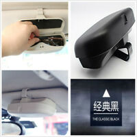 ZAuto Sunglasses Case Storage Car Accessories Car-Styling Fastener Ticket Holder