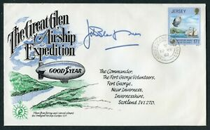 1982 JERSEY - THE GREAT GLEN AIRSHIP EXPEDITION (de971)