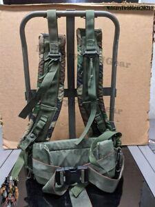 USGI MILITARY FIELD ALICE BACK PACK LC2 RUCK SACK FRAME KIDNEY PAD STRAP No Pack