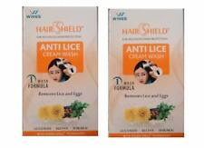 Hairshield Anti Lice Cream Wash Free Head Lice Comb With Every Pack Of 2 X30 Ml