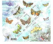 Ukraine - Schmetterlinge (II). postfrisch 2005 Mi. 697-701 Block 50