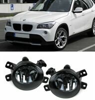 BMW E84 X1 09-15 pair black smoke smoked fogs fog foglights foglamps UK