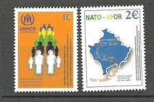 KOSOVO 005 2004 NATO and KFOR set MNH