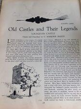 N1-5-5 Ephemera 1936 Article Lochleven Castle C M Hardie