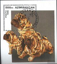 Aserbaidschan Block22 (kompl.Ausg.) gestempelt 1996 Hundewelpen