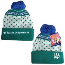 NEW Sailor Moon * Sailor Neptune Beanie Hat * Cloth Knit Cap Tuque NWT Anime