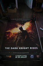 BATMAN THE DARK KNIGHT RISES A 4x6 ft Bus Shelter D/S Movie Poster Original 2012