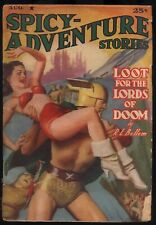 Spicy Adventure - August, 1940 - Original Pulp Magazine - NR