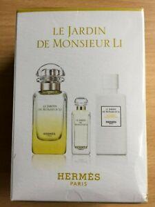 Hermes Le Jardin De Monsieur Li Eau De Toilette 3 in 1 Miniature Set
