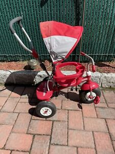 Radio Flyer 4-in-1 All Tetuán Stroll 'N Trike Tricycle - Red
