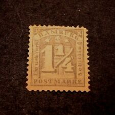 German Hamburg Scott# 22b  Numeral on Arms 1864-65 MH  C329
