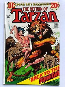 Tarzan #221 Comic 1973 - DC Comics - Lord of the Jungle - Edgar Rice Burroughs