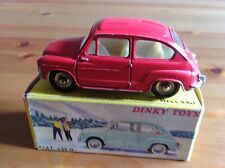 FRENCH DINKY 520 FIAT 600 D ORIGINAL AND BOXED NOT ATLAS