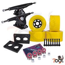 Cal 7 Longboard Flywheel 180mm Truck Bearing 90mm Yellow Skateboard Wheels