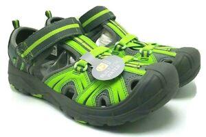 Merrell Hydro H2O Boys Big Kid Sandals Grey Green Outdoor Hiking Shoes US 6W