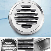 Stainless Steel Wall Air Vent Ducting Ventilation Exhaust Grille Cover Outlet G