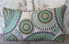 Aztec Green/brown/yellow/beige Oblong Rectangle Cushion Cover Home Decor 30x50