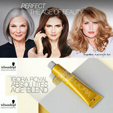 schwarzkopf igora royal absolutes age blends permanent hair color oil developer