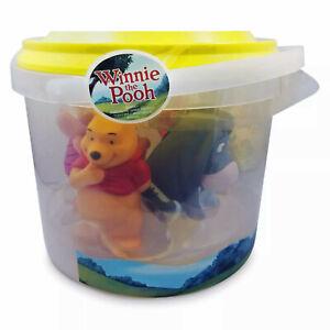Disney Winnie The Pooh 5 Figures Bath Toy Set Disney Store Exclusive