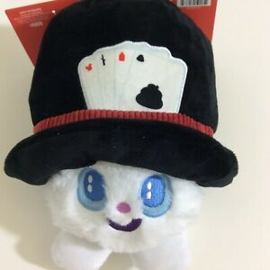 Bark Box Dog Toy Hat Hare Magic Show Rabbit For Dogs 20+lbs Squeaker Crinkle