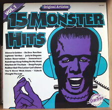 15 MONSTER HITS VOLUME 1 COMPIL' SOUL UK PRESS LP PICKWICK SHM 984