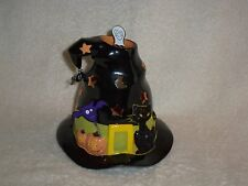 Partylite Spooky Hat Tealight House - A Halloween Must!