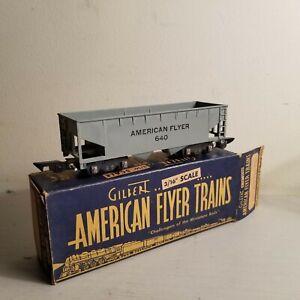 American Flyer No. 640 Hopper Car<+++>Original Box<+++>