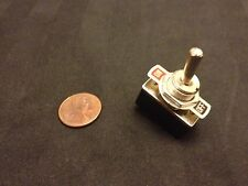 """1 Piece On/Off 2 Way SPST Metal Handle Toggle Switch AC 125v 4A dc 1/2"""" hole c15"""
