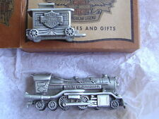 HARLEY DAVIDSON PEWTER MINI TRAIN BOXCAR STARTER SET