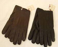 Dents Mens Hastings Leather Gloves.black brown.S,M,L,XL small,medium,large -1568