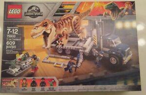 LEGO Jurassic World Set 75933 - T. Rex Transport - New