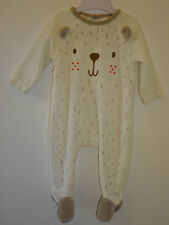 Zara Girls - Beautiful Soft Baby Boys / Girls Sleepsuit Playsuit 0-3 Months VGC