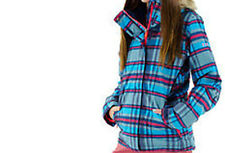 Roxy Jet Ski Girls Snowboard Jacket (L) Surexplaid