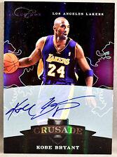 10-11 Panini Elite Black Box Kobe Bryant ON CARD NBA AUTO #42/149 2010 2011