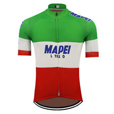 Italy Team Mapei CYCLING Jersey Cycling Short Sleeve Jersey
