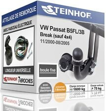 ATTELAGE fixe VW PASSAT B5FL 3B Break 2000-2005 + FAISC.UNIV.7-broches KIT