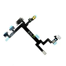 New Power Button Volume/Silent Switch Flex Cable Replacement For Apple iPhone 5