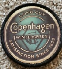 Wintergreen Copenhagen Morale Patch Tactical Military Army USA Flag USA Hook