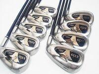 S-flex 9pc!! Dunlop The XXIO MP500 IRONS SET Golf Clubs 4188