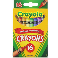 Crayola Classic Color Pack Crayons 16 ea (Pack of 8) 52-3016